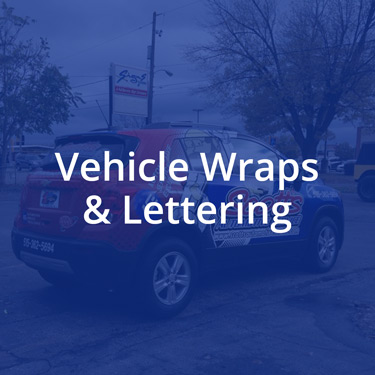 Custom vehicle wraps and lettering for you business in the des moines area - click here to view our work