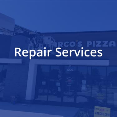 Sign repair services in central iowa